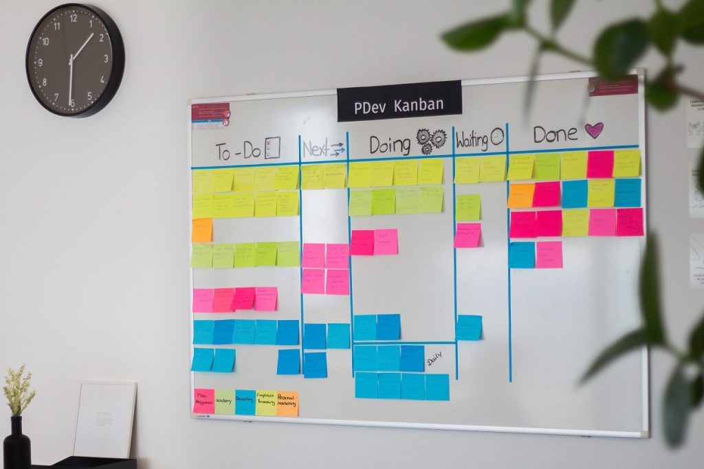 Connected Work: Kanban im Team Personnel Development der Digitalagentur hmmh multimediahaus AG